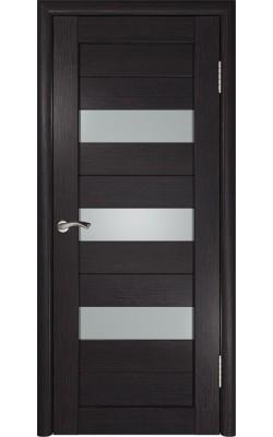 Межкомнатные двери Лу-23 Венге
