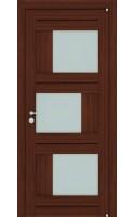 Межкомнатные двери 2181 Орех вельвет