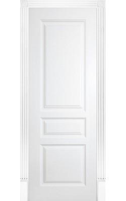 Межкомнатные двери Турин  Эмаль белая