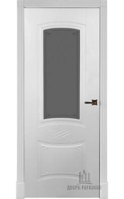 Межкомнатные двери Марианна 5,5  Стекло Эмаль белая