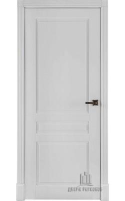 Межкомнатные двери Прага 5,5  Эмаль белая
