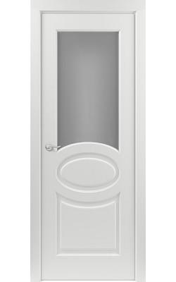 Межкомнатные двери Прованс (Эмаль белая) Стекло