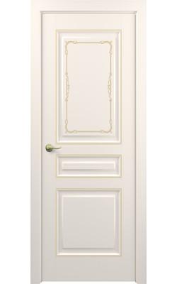 Межкомнатные двери Ампир (Слоновая кость)