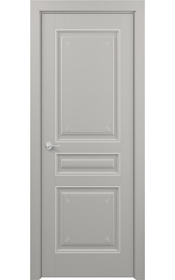 Межкомнатные двери Ампир (Эмаль серая)