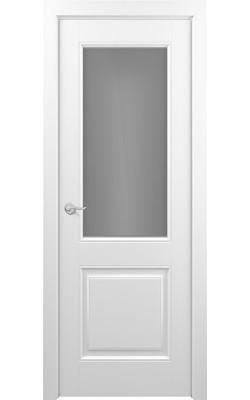 Межкомнатные двери Венеция (Эмаль белая) Стекло