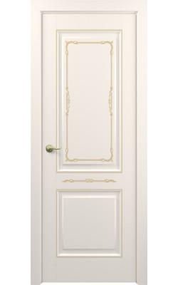 Межкомнатные двери Венеция (Слоновая кость)