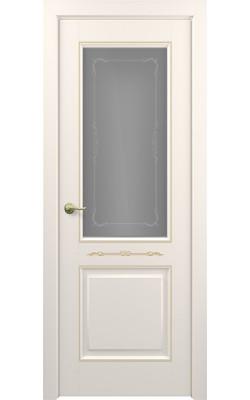 Межкомнатные двери Венеция (Слоновая кость) Стекло