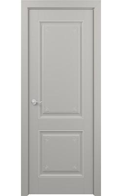 Межкомнатные двери Венеция (Эмаль серая)