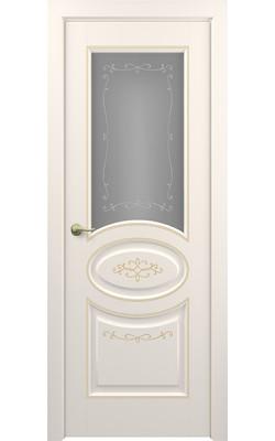 Межкомнатные двери Прованс (Слоновая кость) Стекло
