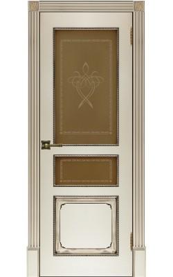 Межкомнатные двери Классика-5, Стекло