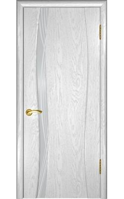 Межкомнатные двери Аква-1 Дуб эмаль белая