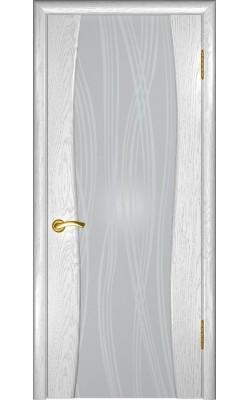Межкомнатные двери Аква-2 Дуб эмаль белая