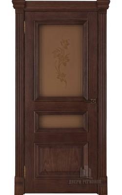Межкомнатные двери Барселона (Бренди) Стекло