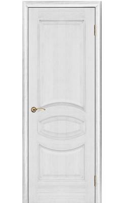 Межкомнатные двери Ницца Серебряная патина