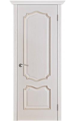 Межкомнатные двери Премьера Белая патина