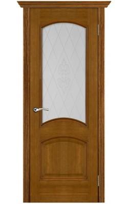 Межкомнатные двери Тера Античный дуб, Стекло