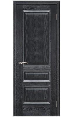 Межкомнатные двери Вена Черная патина