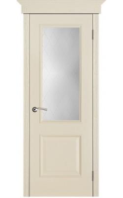 Межкомнатные двери Версаль патина ваниль, Стекло Классик