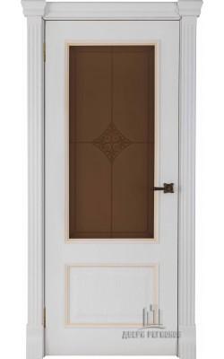 Межкомнатные двери Гранд (Бьянко) Стекло