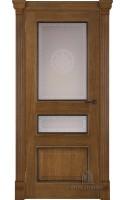 Межкомнатные двери Гранд 2 (Дуб антик) Стекло