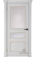 Межкомнатные двери Гранд 2 (Бьянко) Стекло