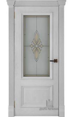 Межкомнатные двери Корсика Перла, стекло