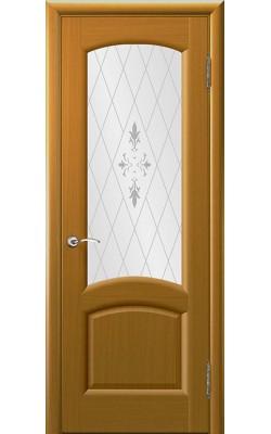 Межкомнатные двери Лаура Дуб Capri, стекло