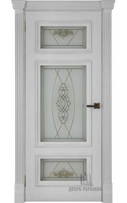 Межкомнатные двери Мадрид (Перла) Стекло