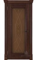 Межкомнатные двери Тоскано (Бренди) Стекло
