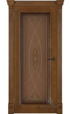 Межкомнатные двери Тоскано (Дуб антик) Стекло