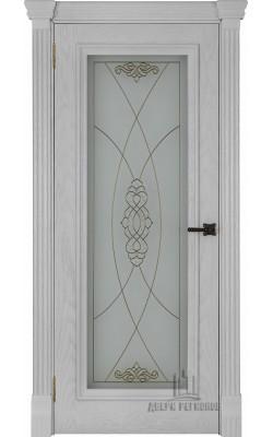Межкомнатные двери Тоскано (Перла) Стекло