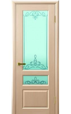 Межкомнатные двери Валентия-2 Беленыйдуб, стекло