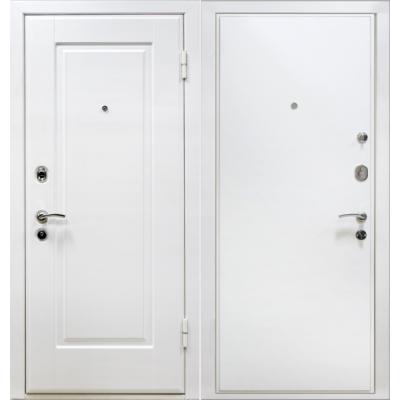 Входные двери М10 белый