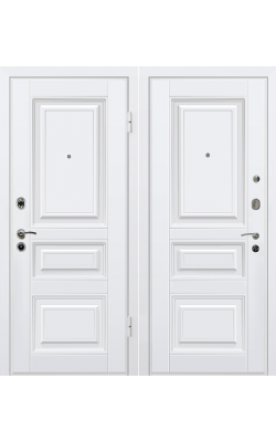 Входные двери М11 белый