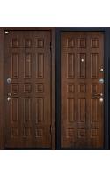 Входные двери М3 тёмный орех