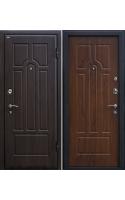 Входные двери М5 тёмный орех