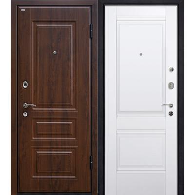 Входные двери М9 тёмный орех