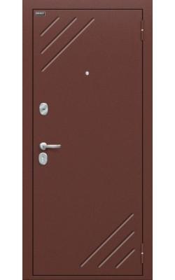 Входные двери  модель Стандарт (66мм) Итальянский орех