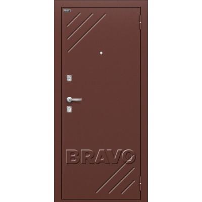 Входные двери  Браво Стандарт (66мм) Итальянский орех