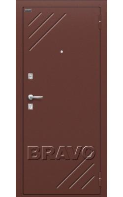 Входные двери  Браво Стандарт (66мм) Миланский орех
