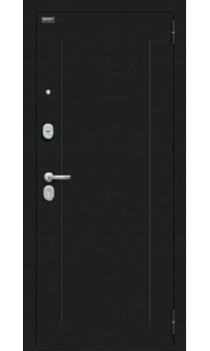 Входная дверь Флеш 119.Б15 Букле чёрное