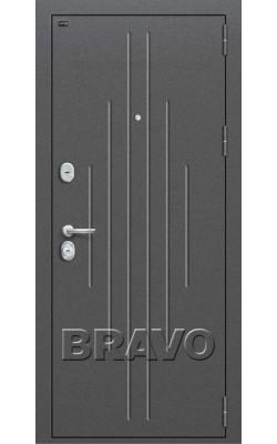 Входные двери  Браво P2-205 Беленый Дуб