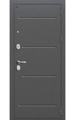 Входные двери  модель P2-216  Темная Вишня