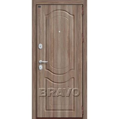 Входные двери  Браво P3-300 Темный Орех