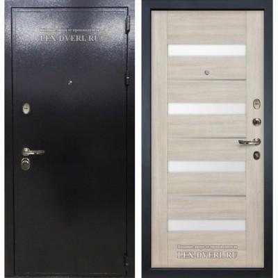 Входные двери  Лекс Колизей (Сицилио) Белёный дуб