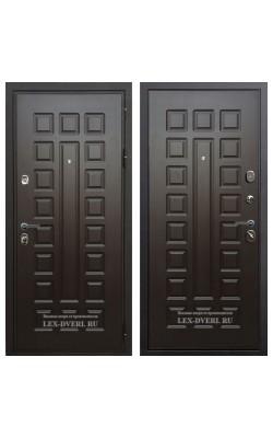Входные двери  Лекс Гладиатор (Венге)