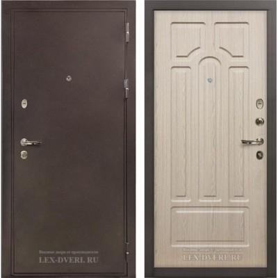 Входные двери Лекс 5а Белёный дуб