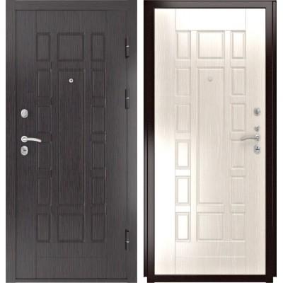 Входные двери  Luxor 5 ПВХ Белёный дуб
