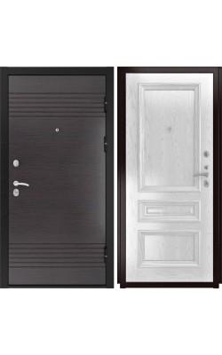 Входные двери  Luxor 7 Фараон-2 дуб эмаль белая