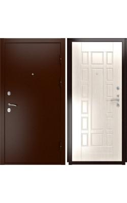 Входные двери  Luxor 3а Белёный дуб